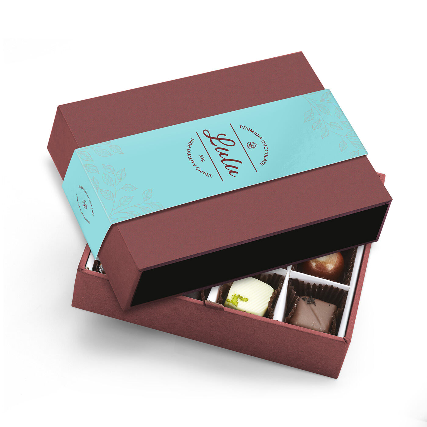 sleeves for chocolate packaging