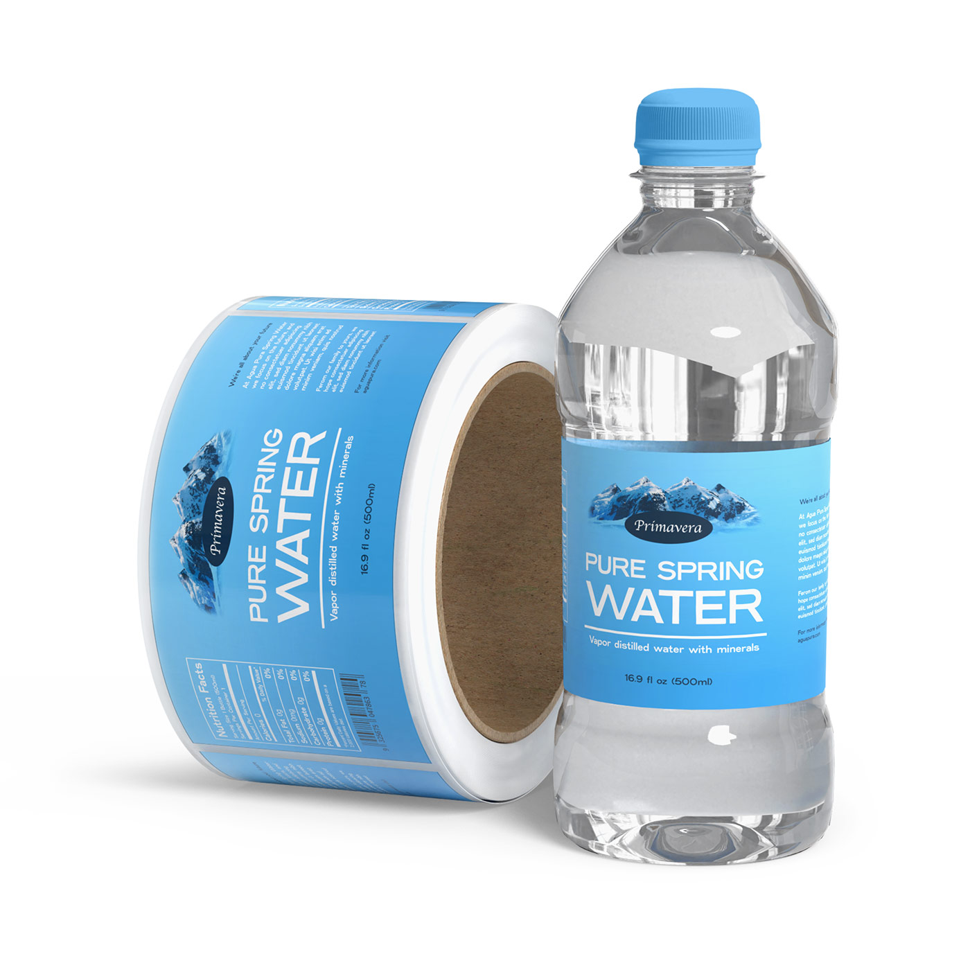 waterproof labels for bottles and jars