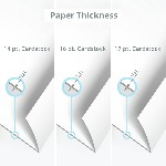 Postcard Paper Thickness