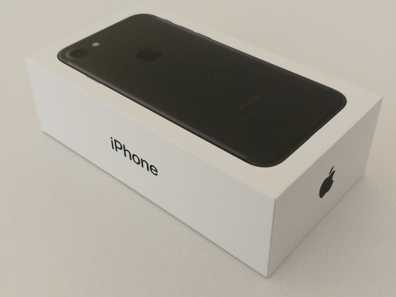 iphone 7 box packaging
