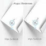 Hang Tag Paper Thickness