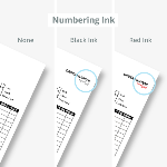 Sequential Numbering Color