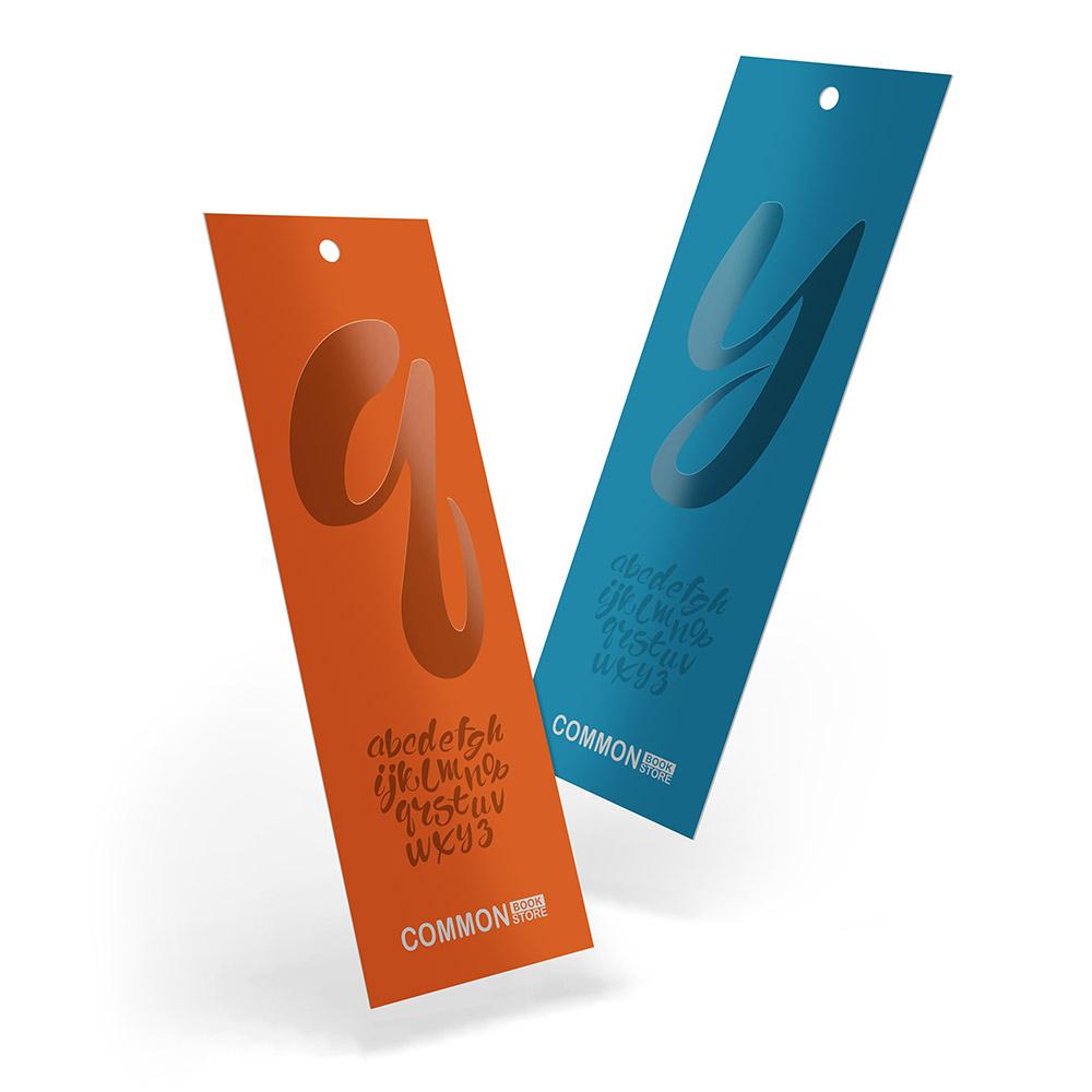 Spot UV Bookmarks