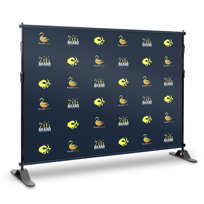 custom step and repeat banner