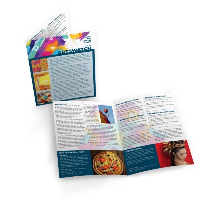 Single Sheet Newsletters