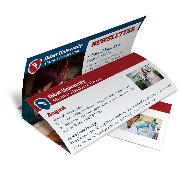 Tri Fold Newsletters