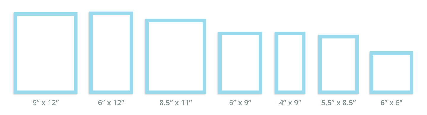 Booklet Sizes