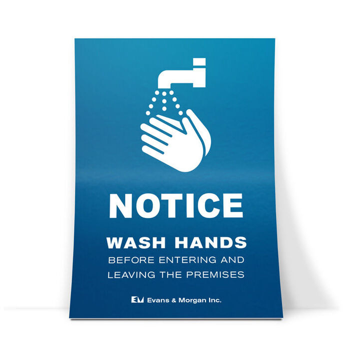 posters for hand washing stations