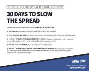 30 Days to Slow the Spread